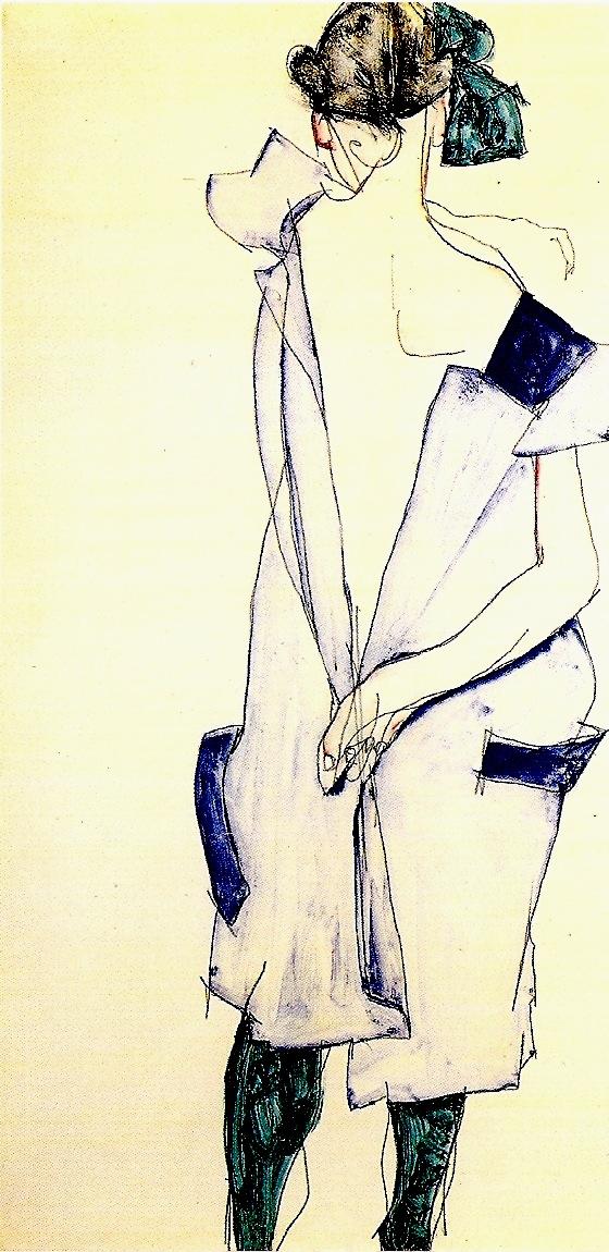 Artist Egon Schiele